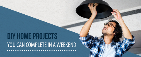 20 Diy Home Projects You Can Complete In A Weekend