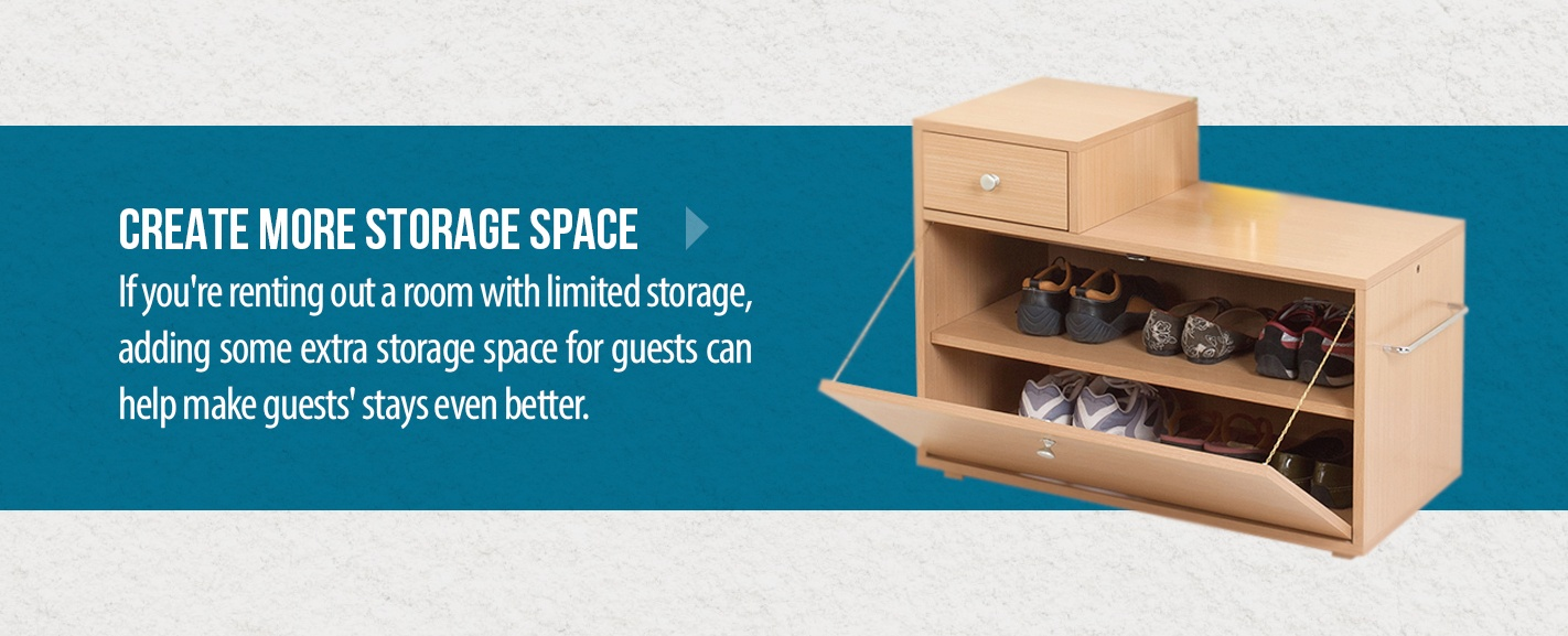 03 Create more storage space