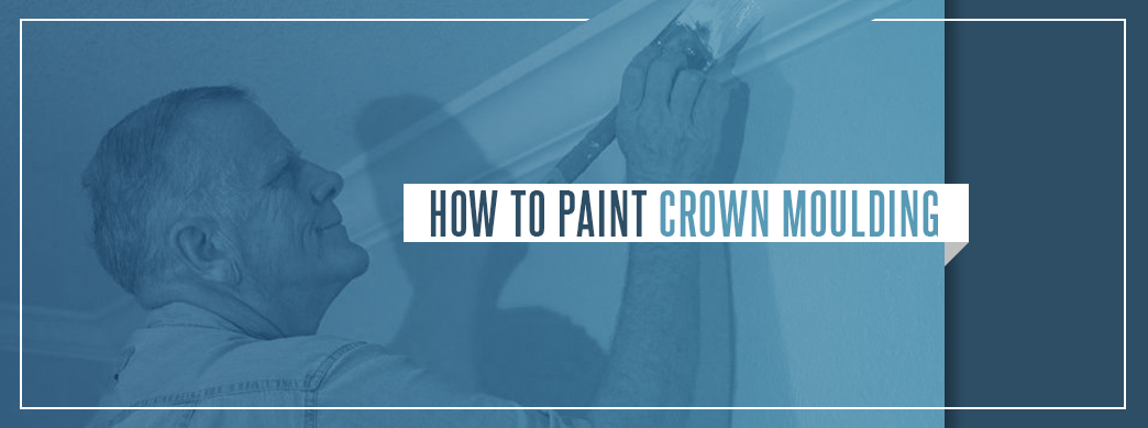 How to Paint Crown Molding