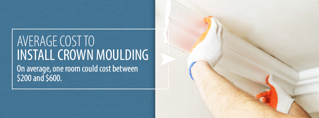 2 Average Cost to Install Crown Molding