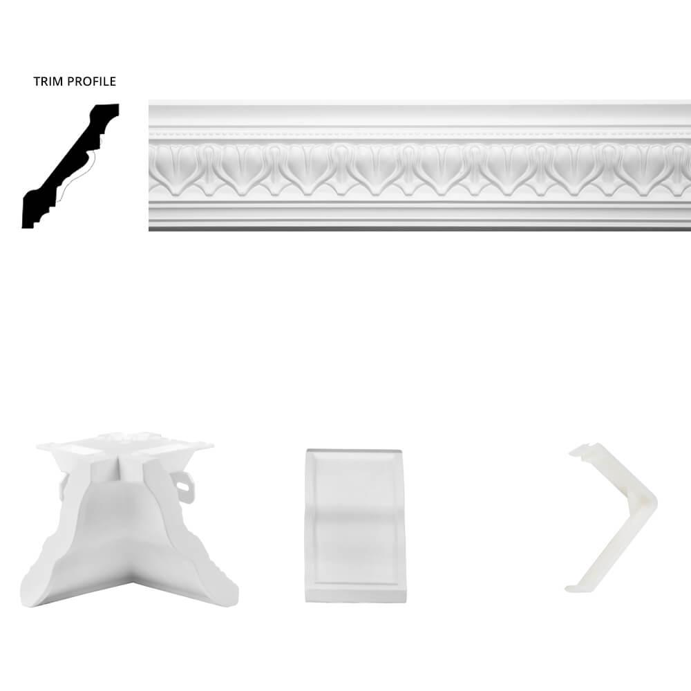 Acropolis Crown Moulding Room Kit