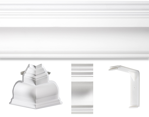 governors palace crown moulding kits