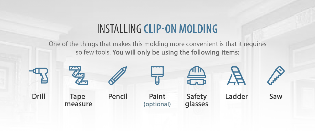Installing Clip On Molding banner