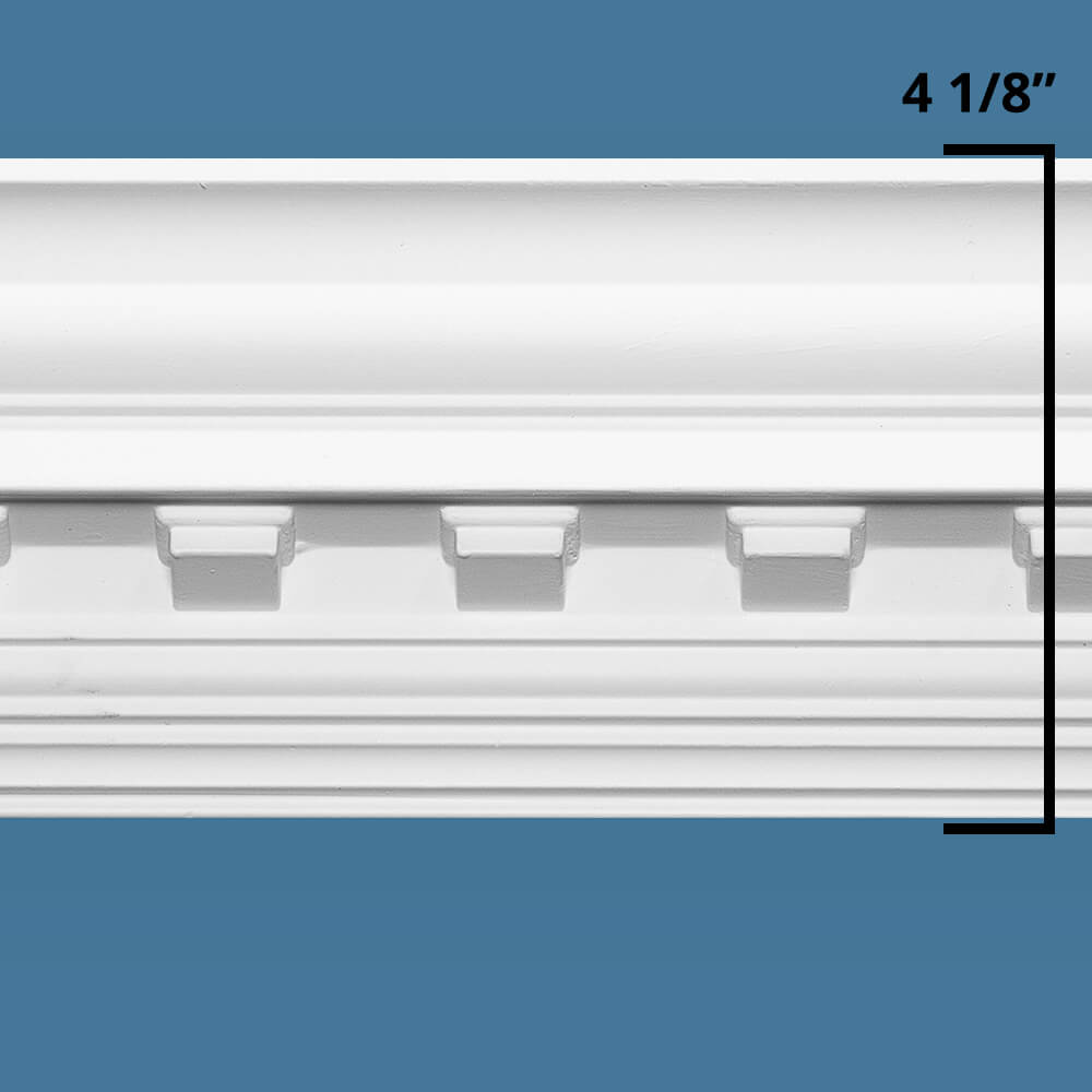 Concord Dentil Crown Molding Room Kit