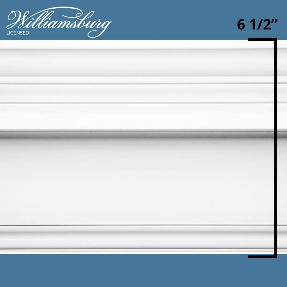 Governor's Palace Crown Molding Room Kit